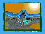 freaked on the beach by alby58, Photography->Manipulation gallery