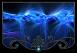 Blue Waves by nmsmith, abstract->fractal gallery