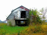 Abandoned Barn in the Rain by jojomercury, Photography->Architecture gallery
