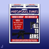 Artopolis Times - Firearms Legislation by Jhihmoac, illustrations->digital gallery