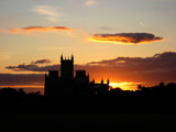 Wells Cathedral Sunset by Morrison, Photography->Sunset/Rise gallery
