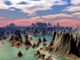 Sulfur Lake by Foxfire66, Computer->Landscape gallery