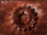 Rusted Gear by fog76, abstract->Surrealism gallery