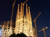 Sagrada Familia at night by ppigeon, Photography->Places of worship gallery