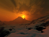 Winter Fire by Al_Pacino, Computer->Landscape gallery