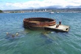 The Turret at Pearl Harbour by LynEve, photography->boats gallery