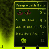 AU Road Signs - DEADicated Exits by Jhihmoac, illustrations->digital gallery