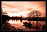 Infra winter river by JQ, Photography->Landscape gallery