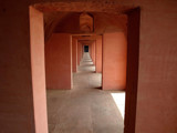 Corridor in Fatephur Sikri deserted city by silicon, Photography->Castles/Ruins gallery