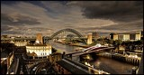 A View of the Tyne by Dunstickin, photography->bridges gallery