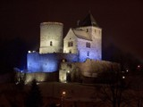 Bedzin by night by bartosz_b, photography->castles/ruins gallery