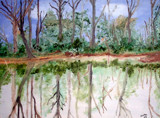 Painted in 2005 Oil - reflections by rotcivski, illustrations->traditional gallery