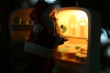 His yearly midnight snack. by willowtear, holidays->christmas gallery