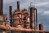Gasworks by DigiCamMan, photography->manipulation gallery