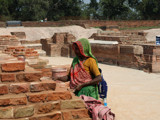 Saranath, India and repairs to the ruins by silicon, Photography->People gallery