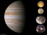 Jupiter and Galilean Satellites by Crusader, space gallery