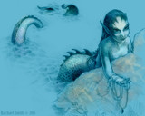 Ocean Treasure by Lokie, Illustrations->Traditional gallery
