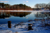 herring river in january by solita17, Photography->Landscape gallery