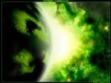 Green Nebula by aksu, abstract gallery
