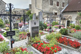 Durnstein Cemetery by flanno2610, photography->gardens gallery