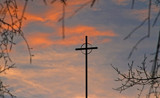 cross and sky by tee, photography->places of worship gallery