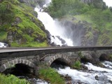 Norwegian Waterfall by Bummered, photography->waterfalls gallery