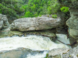 The Chute into Linville Falls by Pistos, photography->waterfalls gallery