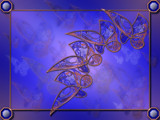 Copper Butterflies by Akeraios, abstract->fractal gallery