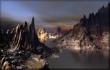 Dragon lake by Foxfire66, Computer->Landscape gallery