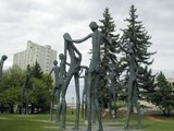 The Family of Man Sculpture, Calgary (2) by fogz, Photography->Sculpture gallery