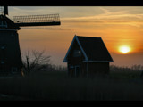 Home by the mill by Paul_Gerritsen, Photography->Sunset/Rise gallery