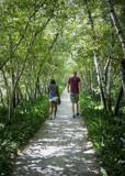 Garden Walkway by luckyshot, photography->people gallery