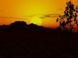 Desert Sunset by SamGerdt, Computer->Landscape gallery