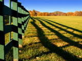 Green Acres Fence by charlescurtis, Photography->Landscape gallery