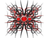 strands of spikes by cro5point, abstract gallery