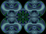 Blue With Green by Joanie, abstract->fractal gallery