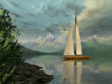 Sail Away by WENPEDER, Computer->Landscape gallery