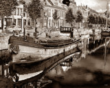 Delfshaven Sepia 2 by rvdb, Photography->Boats gallery