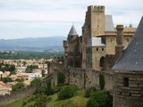 Carcassonne Aude Gate by regmar, Photography->Castles/Ruins gallery