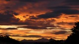 Sunset over the mountains by LynEve, photography->sunset/rise gallery