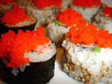 Sushi & Roe Eggs... by kaeun, Photography->Food/Drink gallery
