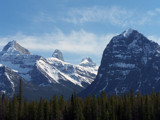View from Glacier Parkway by Oceansiders, Photography->Mountains gallery