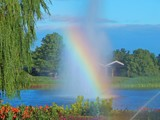 Rainbow at the Garden by trixxie17, photography->gardens gallery
