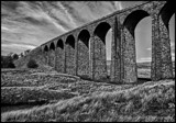 Ribble Viaduct by Dunstickin, contests->b/w challenge gallery