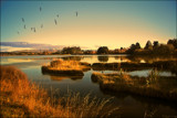 Evening At The Lagoon by LynEve, photography->landscape gallery