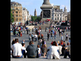 Trafalgar Square by gs208103, Photography->People gallery