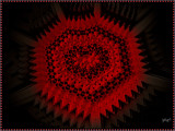 A Metal Heart Of Red by Joanie, abstract->fractal gallery