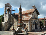 Image: The Stone Church of Casa de Campo