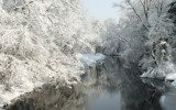 River in Snow by Tomeast, photography->landscape gallery