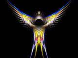 Crest of The Phoenix by jswgpb, Abstract->Fractal gallery